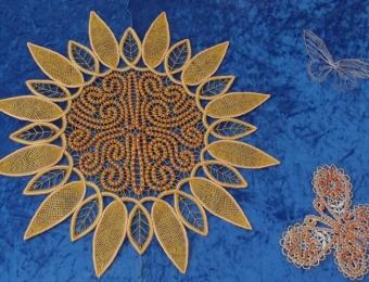 nipeldatud päevalill või päike - Luule